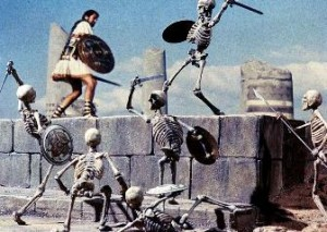 Harryhausen's skeletons: Better'n CGI