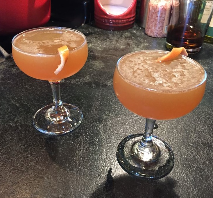 The Next in Line cocktail takes its name from Ray Bradbury's tale of the mummies of Guanajuato.