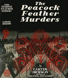 The Peacock Feather Murders is one of the best locked room mysteries.