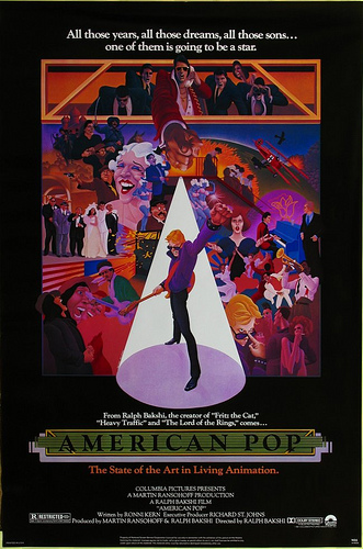 American Pop focuses on four generations of Americans striving to make it in the music business.
