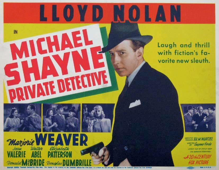 Lloyd Nolan's Mike Shayne differs from the detective featured in the novels, but he's one of the best things about the film.